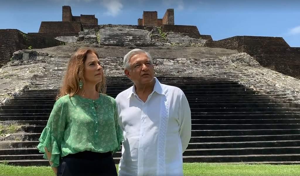 Niega Obrador injerencia de su esposa en cartas al Rey y Papa. Noticias en tiempo real