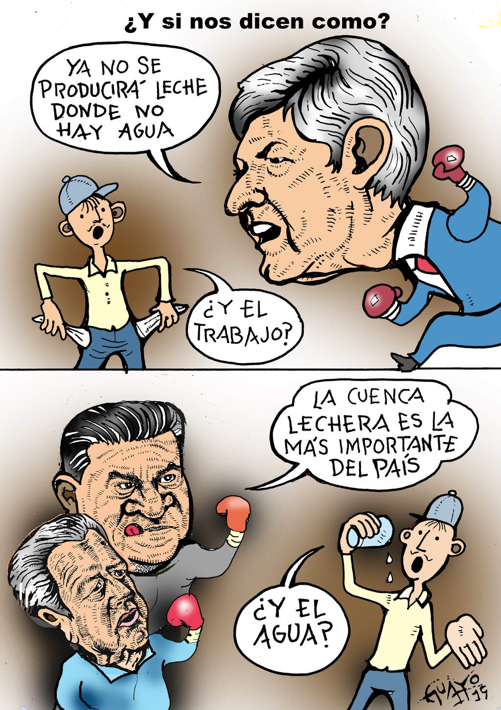 CARICATURA EDITORIAL