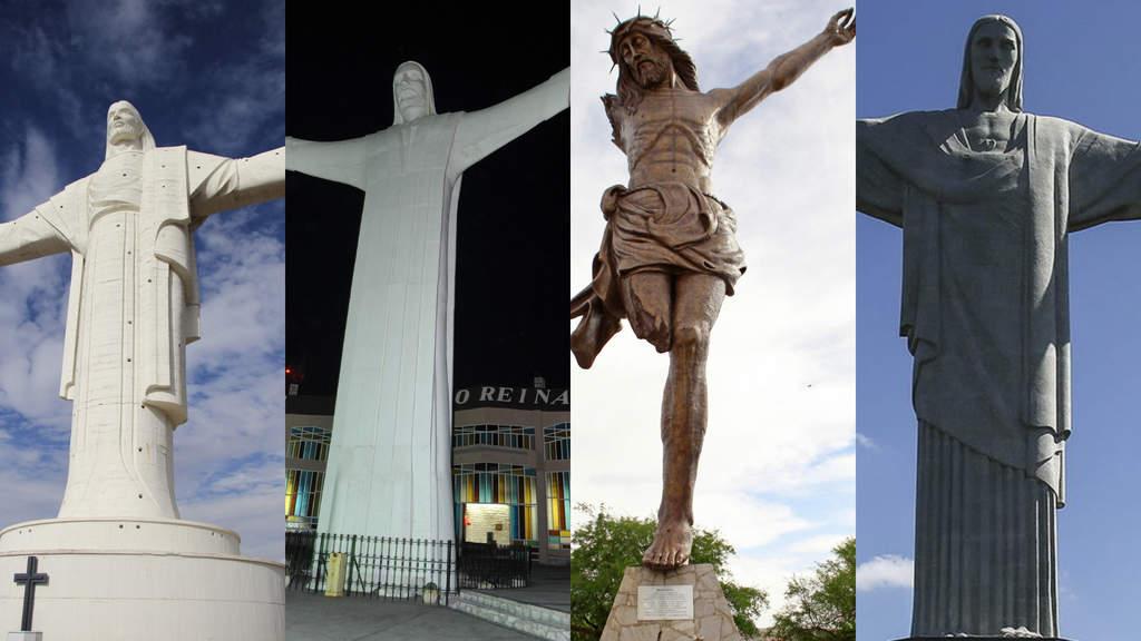 Los Cristos más grandes que puedes encontrar en Latinoamérica. Noticias en tiempo real
