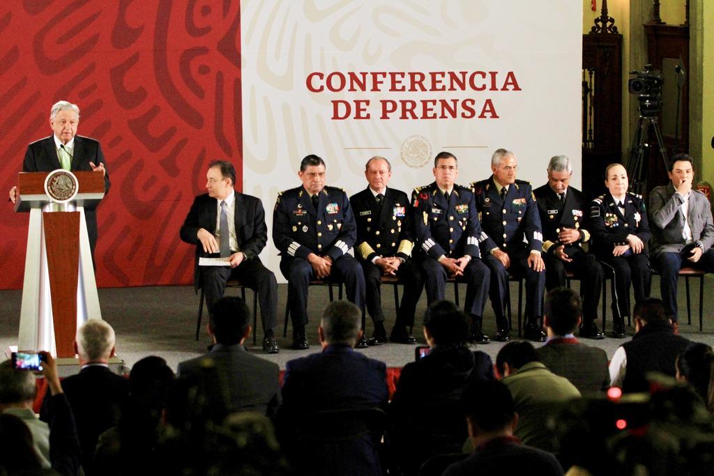 Niega engaño por designación de militar en Guardia Nacional. Noticias en tiempo real