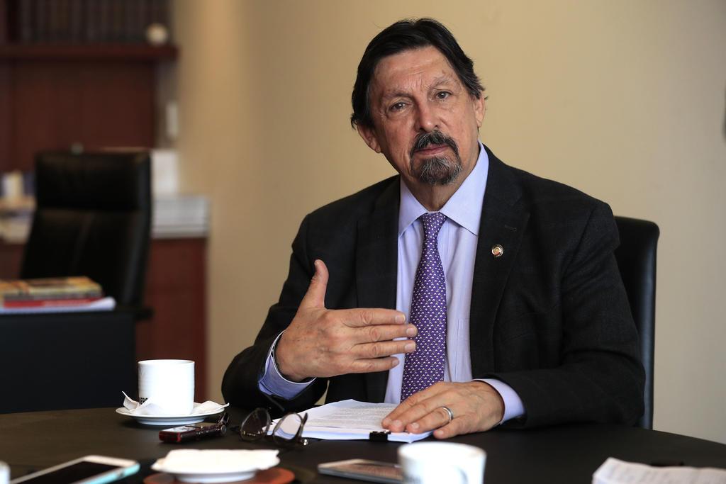 Napoleón Gómez Urrutia llama a la unidad sindical. Noticias en tiempo real