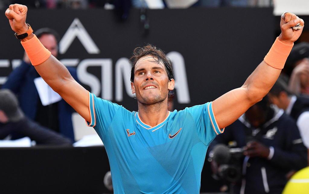 Rafael Nadal se impone a Djokovic y conquista Roma. Noticias en tiempo real