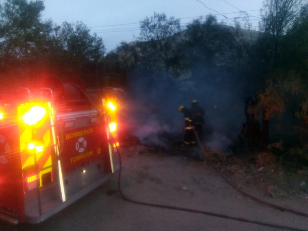 Se incendia jacal en colonia Vista Hermosa