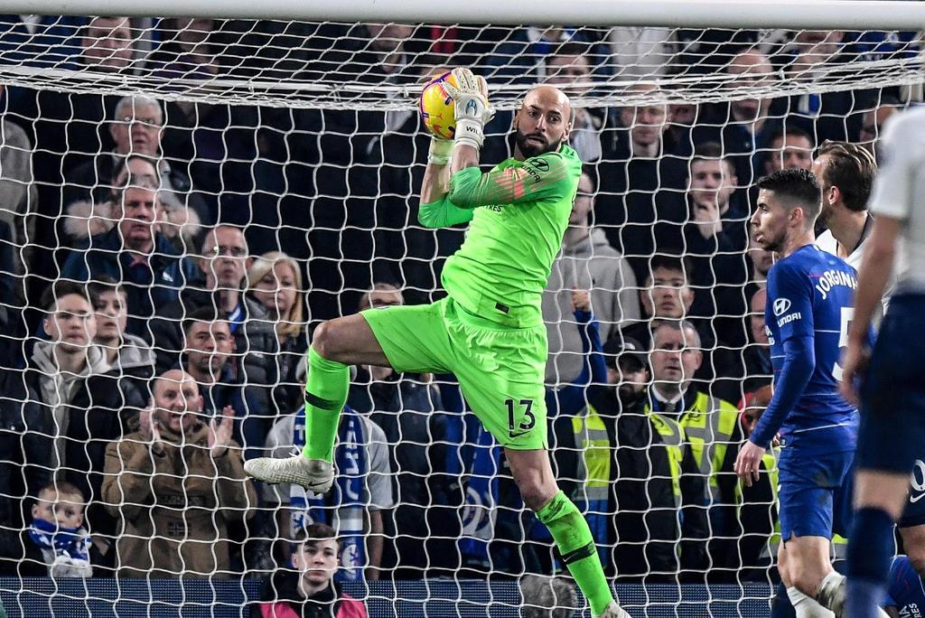 Willy Caballero renueva una temporada más con el Chelsea. Noticias en tiempo real