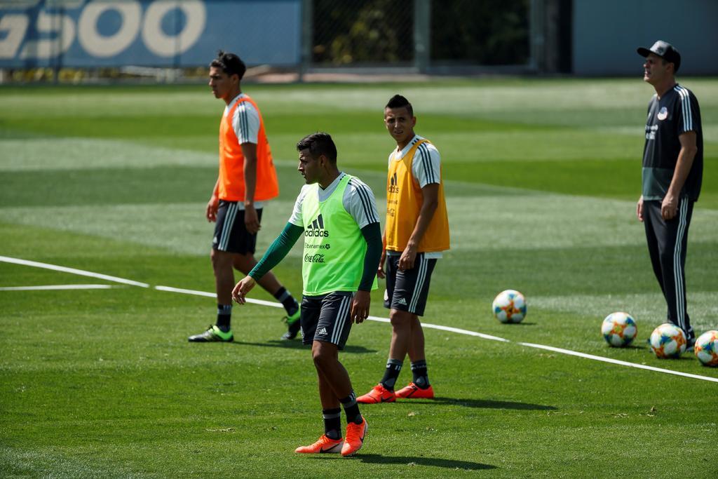 'Tri' rompe segunda concentración para Copa Oro