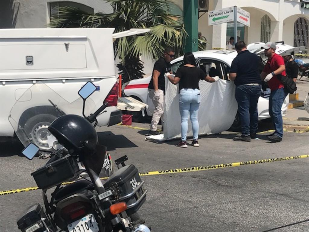 Muere mujer en choque en centro de GP. Noticias en tiempo real