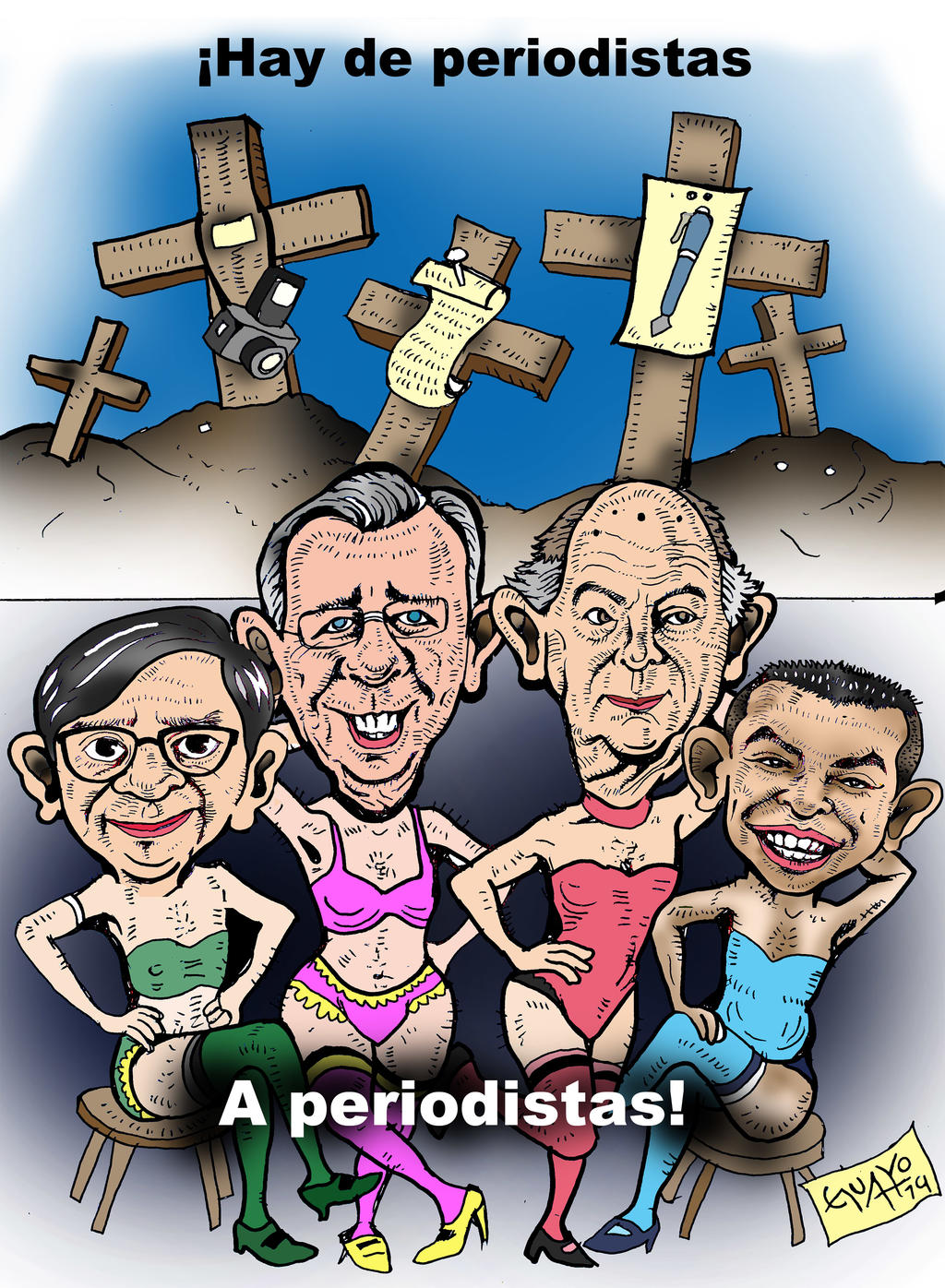 CARICATURA EDITORIAL. Noticias en tiempo real