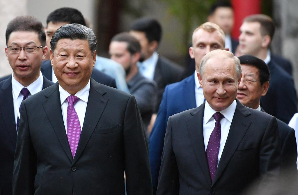 Lanzan Rusia y China contraofensiva a Trump