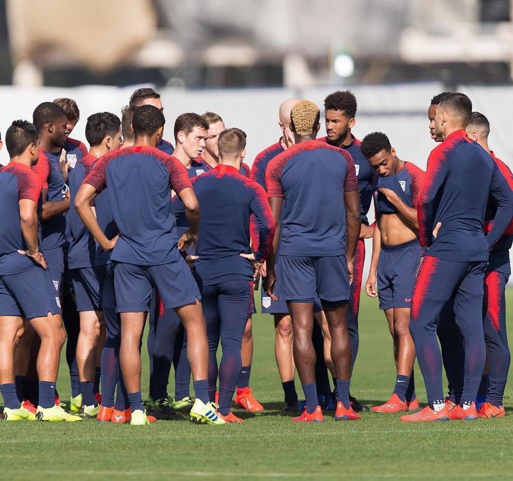 Estados Unidos anuncia a sus 23 jugadores para la Copa Oro. Noticias en tiempo real