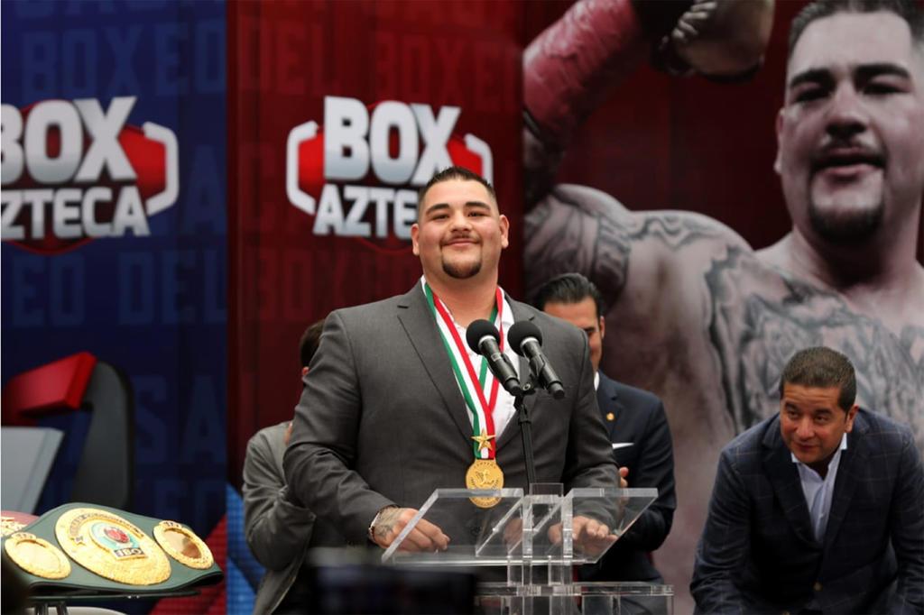 Quiero ser más grande que El Canelo: Andy Ruiz. Noticias en tiempo real