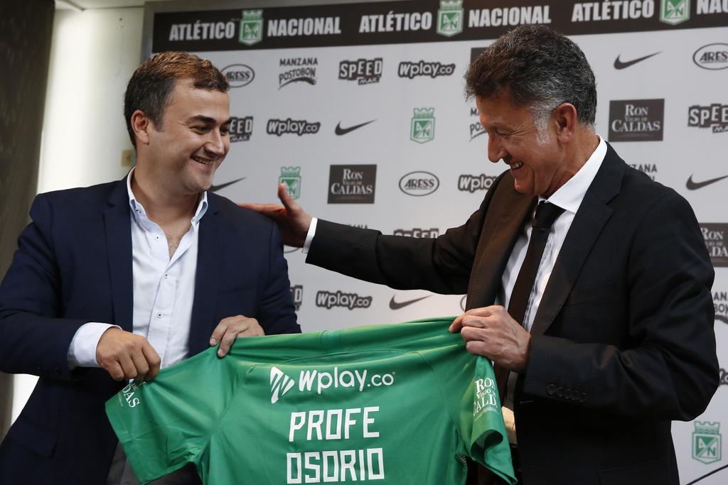 Juan Carlos Osorio regresa al Atlético Nacional. Noticias en tiempo real