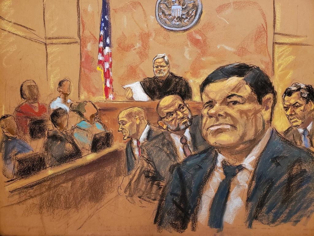 Defensa del 'Chapo' insiste en repetir juicio a días de dictarle sentencia