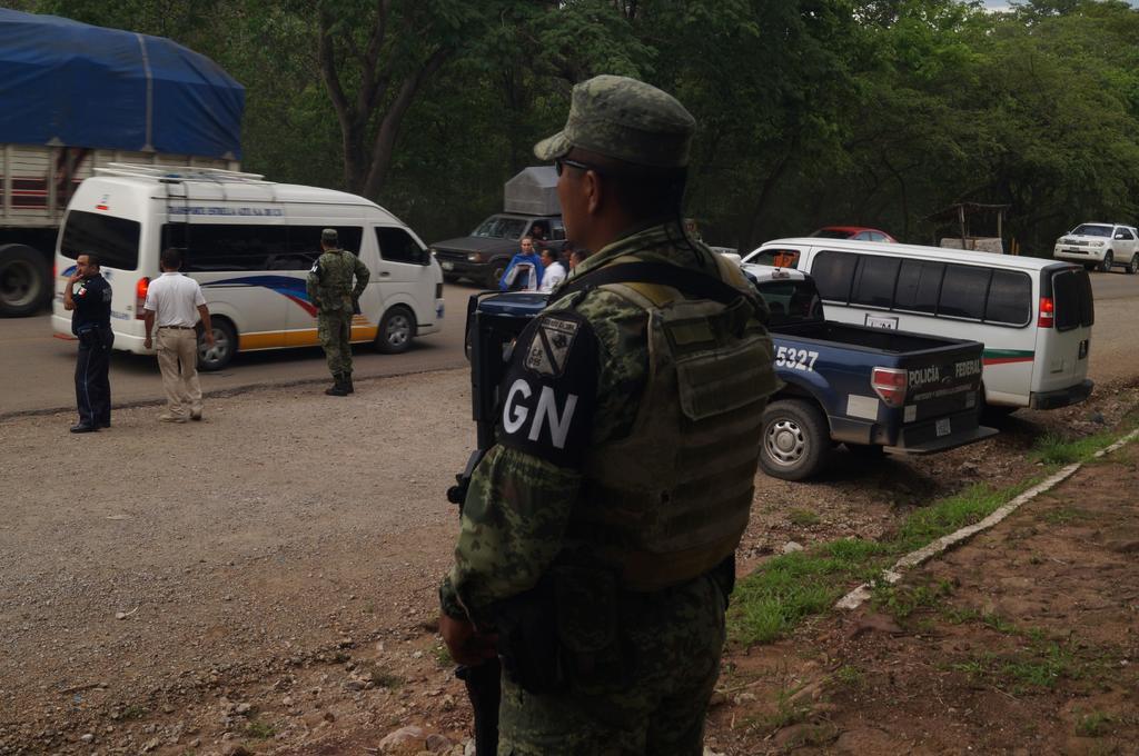 Van por más de mil de la GN en Chiapas