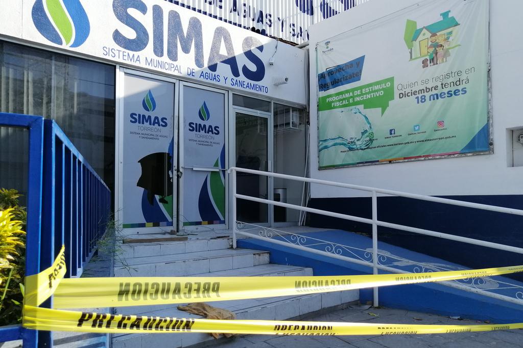 Colabora Simas con autoridades por robo