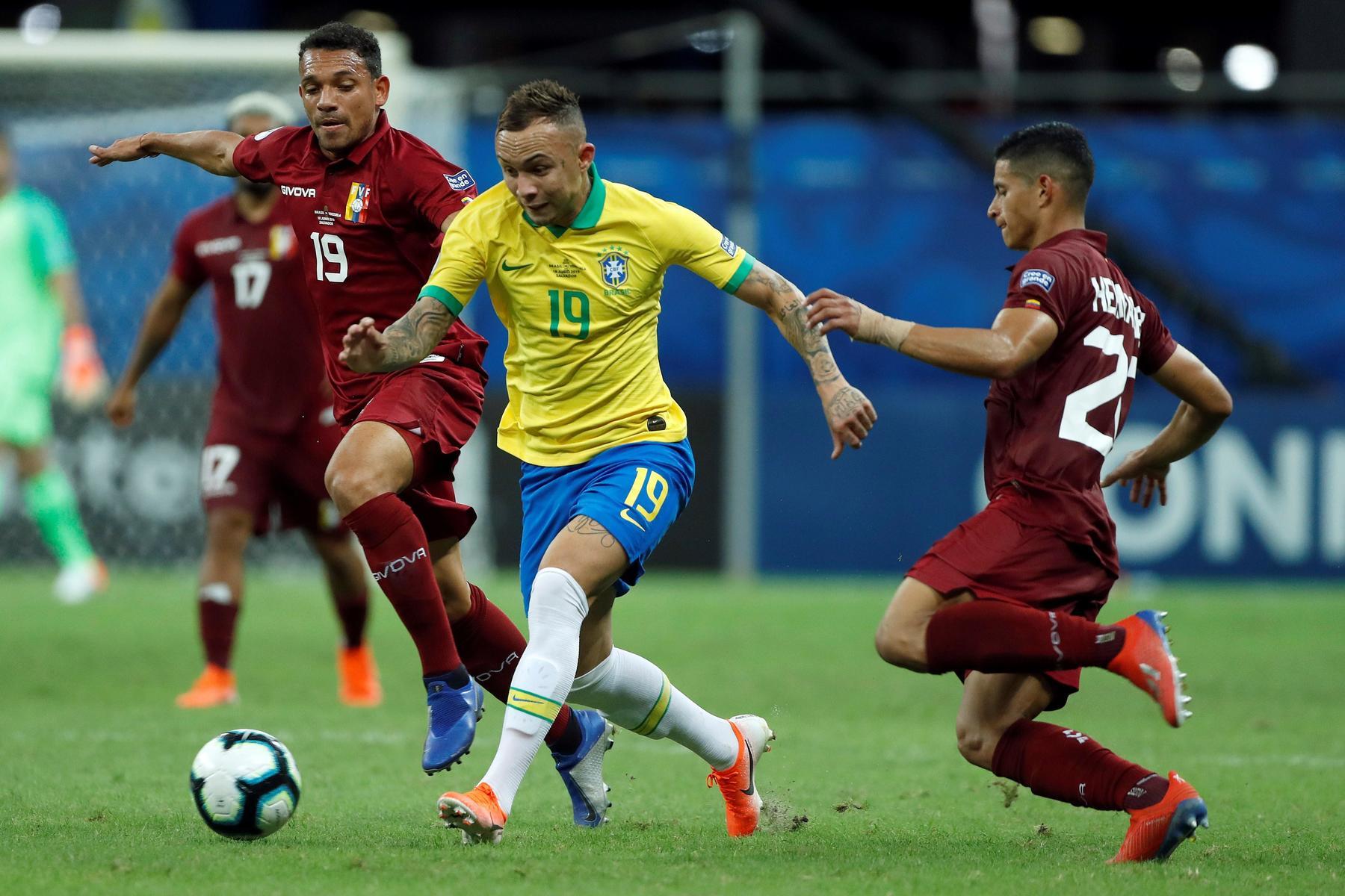 Brasil no pasa del empate ante Venezuela. Noticias en tiempo real