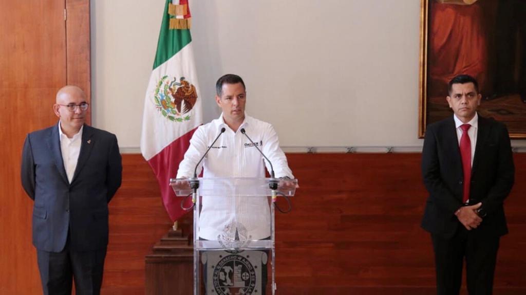 Sustituyen al secretario de seguridad pública de Oaxaca. Noticias en tiempo real