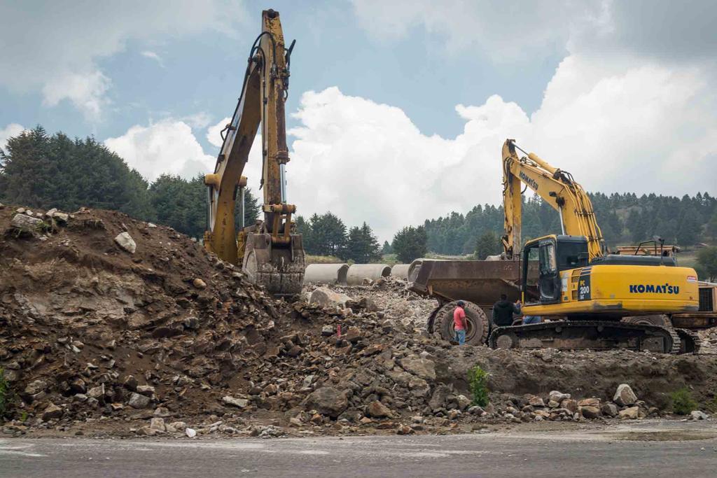 Revisará AMLO expropiación a comunidad para construir autopista. Noticias en tiempo real