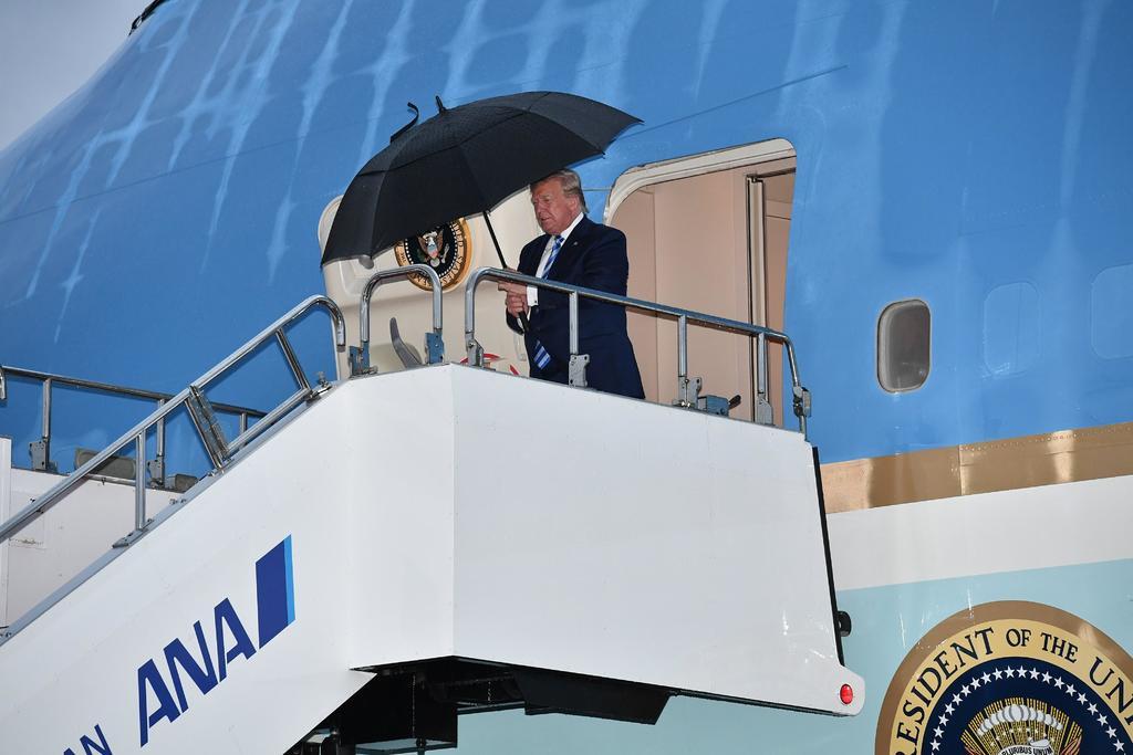 Trump llega a Osaka para participar en la cumbre del G20. Noticias en tiempo real
