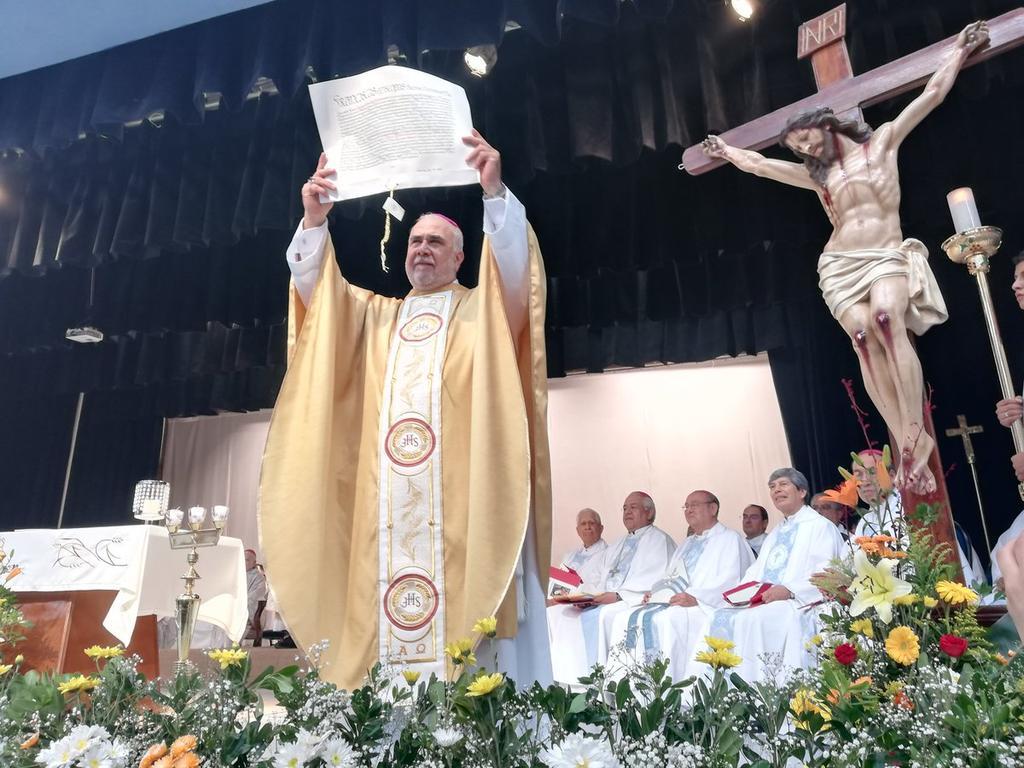 Toma posesión tercer obispo de la Diócesis de Gómez Palacio. Noticias en tiempo real