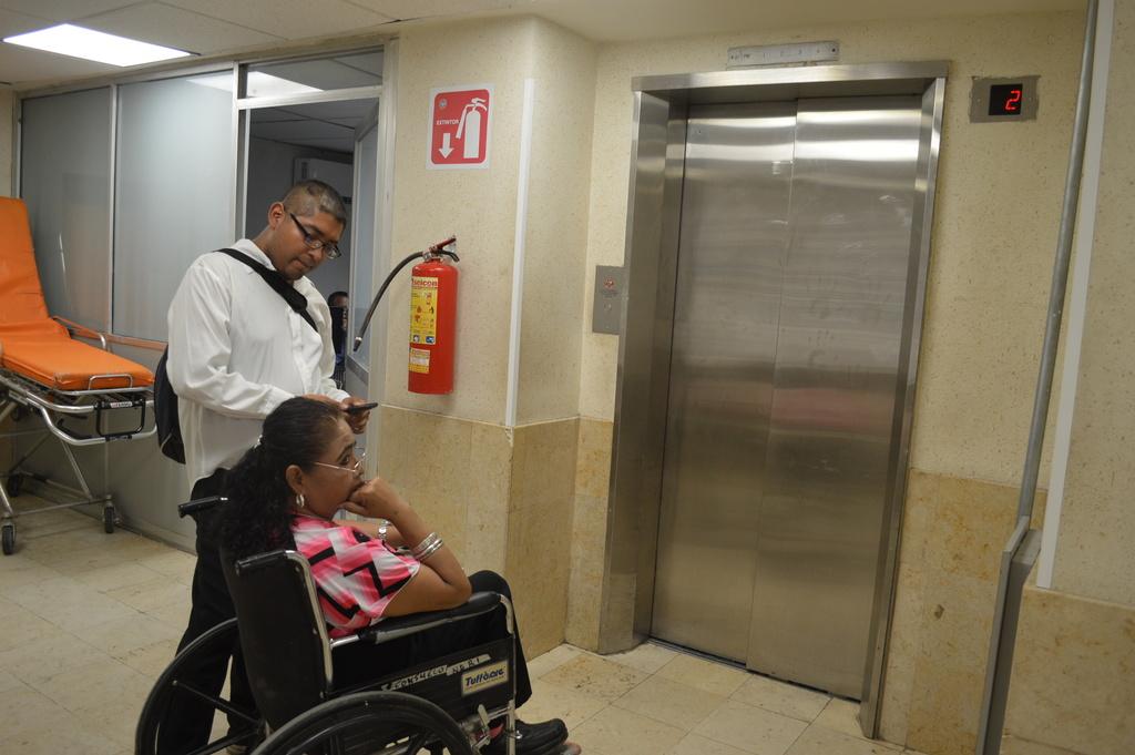 Urge colocar nuevo elevador en ISSSTE. Noticias en tiempo real