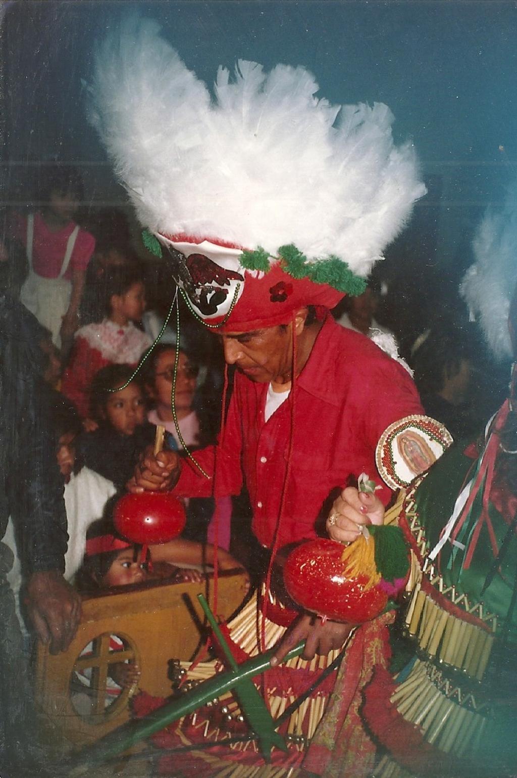 Jesús Fernández Salas, decano de la tradicional danza de matachines en Gómez Palacio. Noticias en tiempo real
