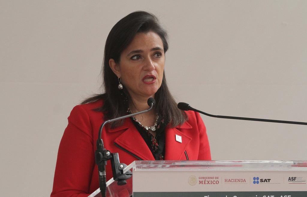 Jefa del SAT niega contribuir a elucubraciones sobre renuncia de Urzúa. Noticias en tiempo real