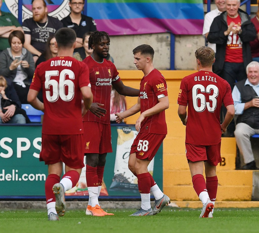 Liverpool arranca su pretemporada