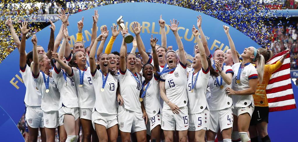 EUA se mantiene en la cima del ranking femenil de FIFA. Noticias en tiempo real