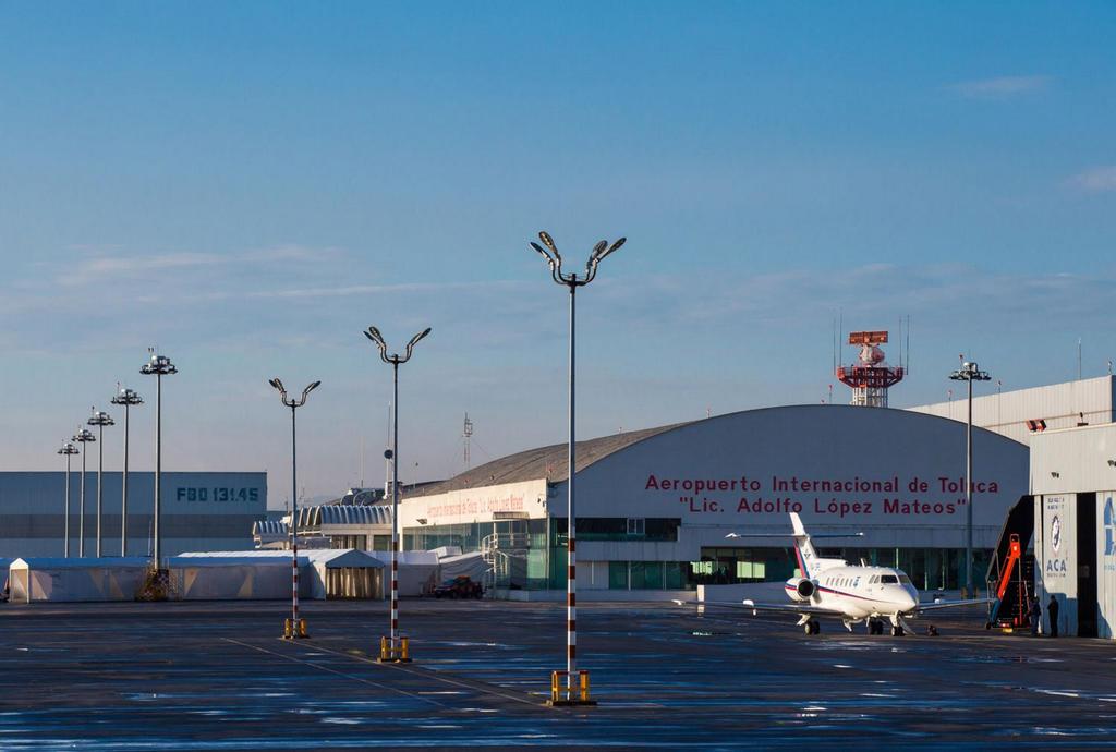 Complementará aeropuerto de Toluca operaciones de vuelos: SCT. Noticias en tiempo real