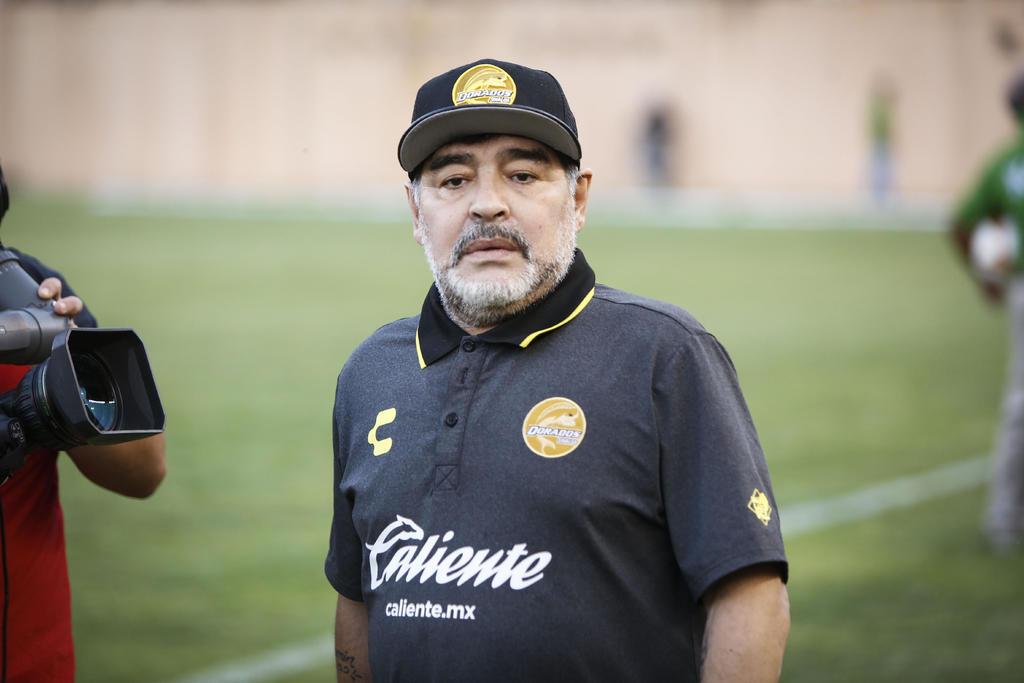Maradona espera se haga justicia por asesinato de jugador de Dorados. Noticias en tiempo real