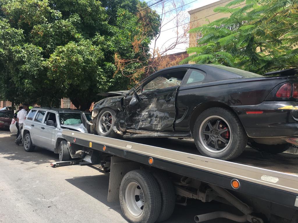 Accidente en el centro de Gómez Palacio deja un lesionado. Noticias en tiempo real