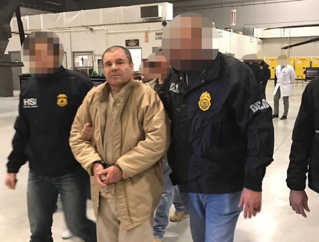 Sacan a El Chapo de su prisión en NY; se desconoce su paradero. Noticias en tiempo real