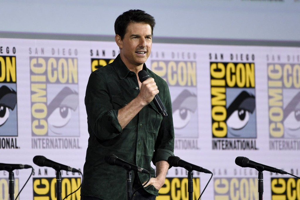 Tom Cruise presenta avance de Top Gun