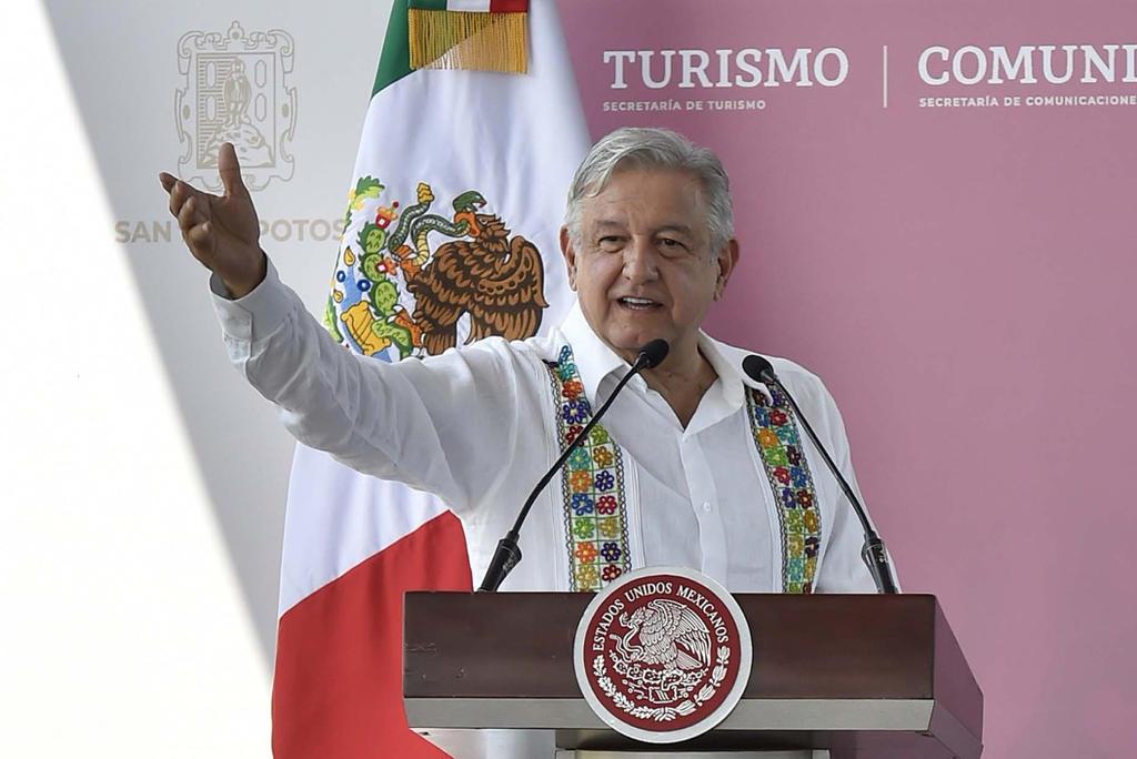 No merezco este trato, dice AMLO a manifestantes en San Luis. Noticias en tiempo real