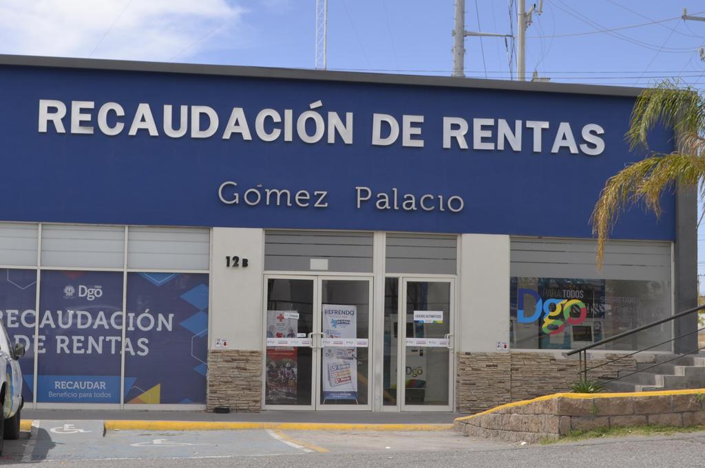 Gómez Palacio es primer lugar en recaudación del estado de Durango. Noticias en tiempo real