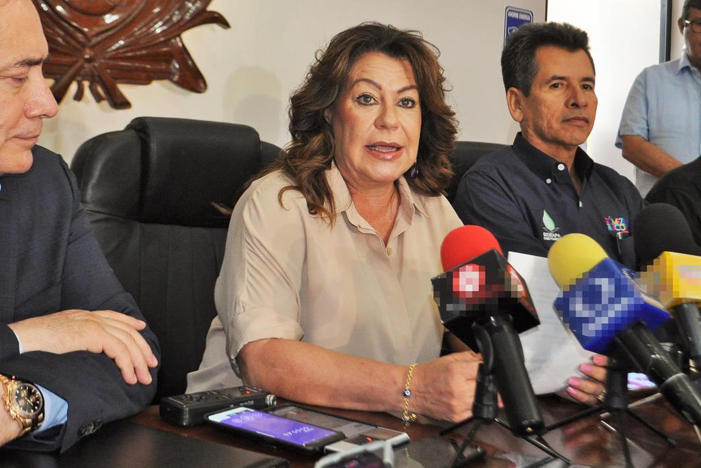 Las obras no se hacen con buena voluntad, ni de saliva: Leticia Herrera. Noticias en tiempo real