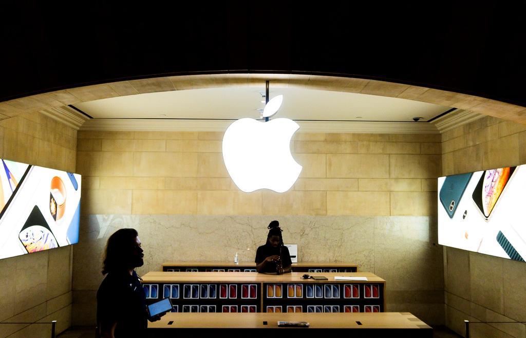 Se reducen las ganacias de Apple. Noticias en tiempo real