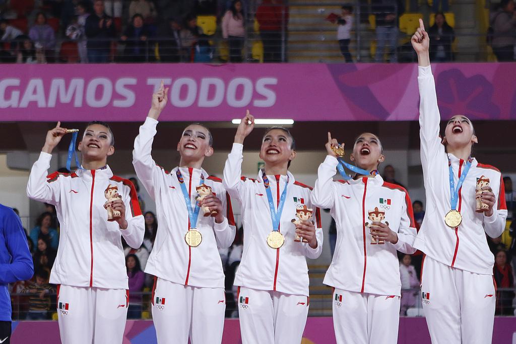 Resultado de imagen para México da un giro a la trama de la gimnasia rítmica