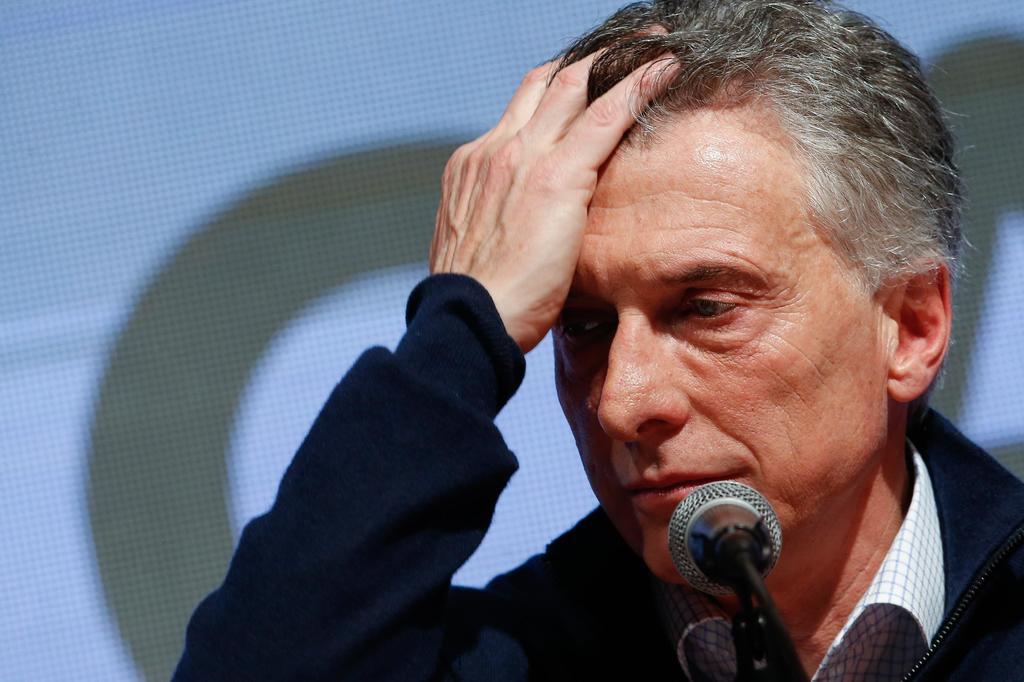 Derrota de Macri en primarias devalúa al peso argentino. Noticias en tiempo real