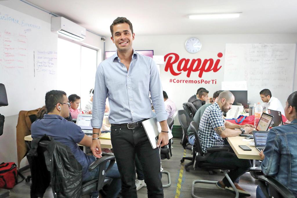 Planea Rappi invertir 300 mdd en México. Noticias en tiempo real