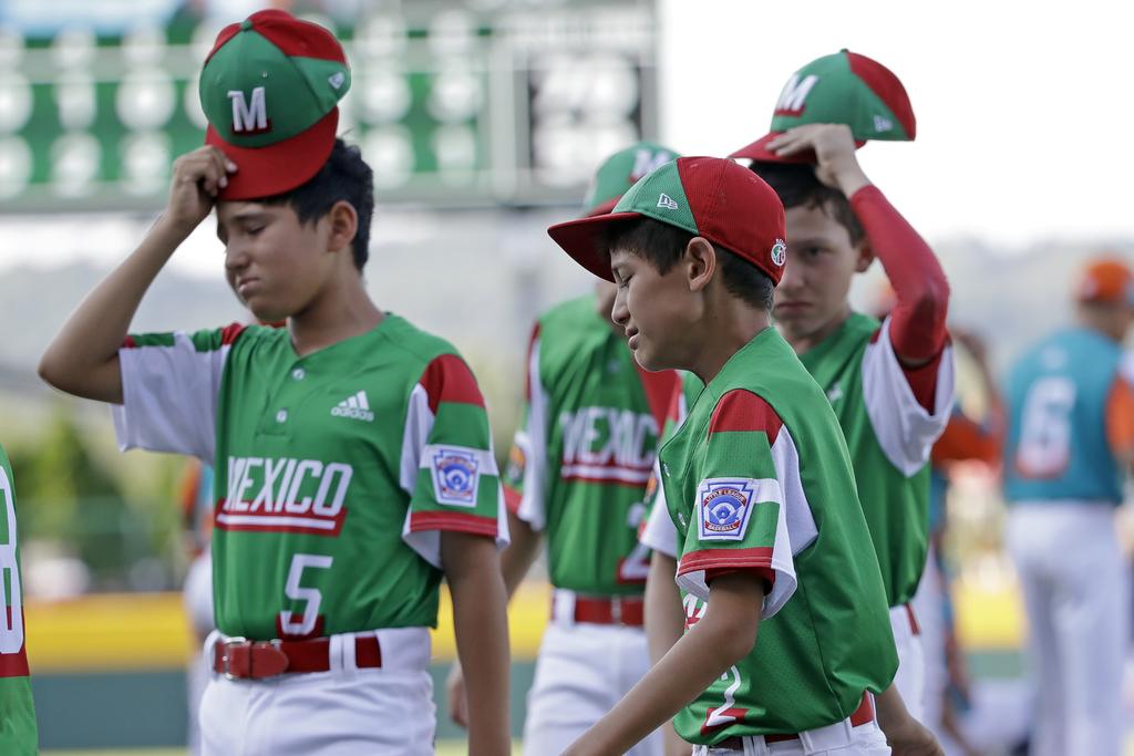 México queda fuera de la Serie Mundial de Pequeñas Ligas. Noticias en tiempo real