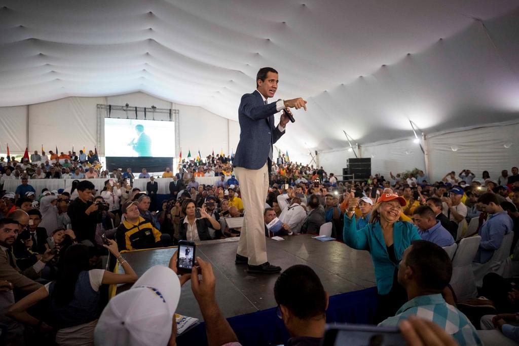 Afirma Guaidó que sabía de diálogos entre chavismo y EUA. Noticias en tiempo real