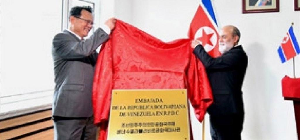 Abre Venezuela embajada en Corea del Norte. Noticias en tiempo real