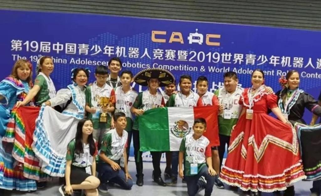 Tamaulipas y Veracruz arrasan en torneo de robótica en China. Noticias en tiempo real