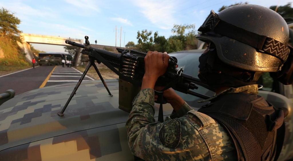 El operativo conjunto Michoacán marcó el inicio de la llamada Guerra contra el Narcotráfico que emprendió el entonces presidente Felipe Calderón Hinojosa contra los grupos criminales del país. (ARCHIVO)