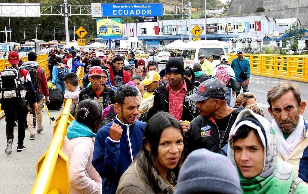 Ecuador pedirá visa a emigrantes venezolanos que entren al país. Noticias en tiempo real