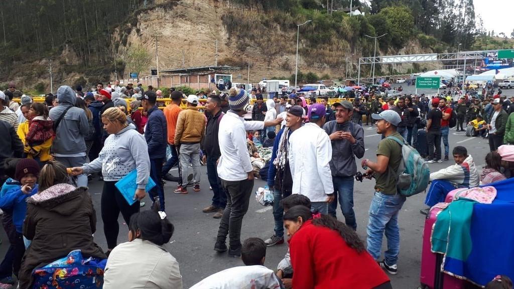 Muere hombre en medio de protestas en frontera entre Colombia y Ecuador. Noticias en tiempo real
