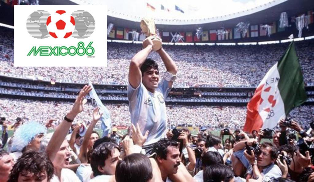 Logo México 86 compite con Sudáfrica 2010 por ser el mejor de Mundiales. Noticias en tiempo real
