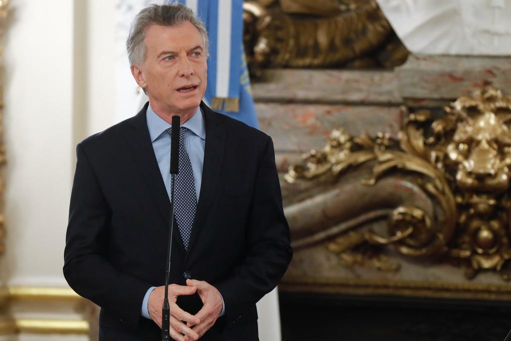 Asegura Macri que restricciones cambiarias son lo menos invasivas posibles. Noticias en tiempo real