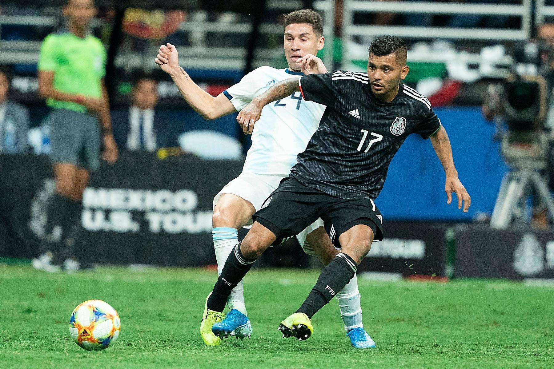 México es goleado por Argentina en amistoso. Noticias en tiempo real